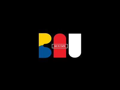 BAU | Identity Design layout brand and identity graphic vector color flat shapes graphic design designer illustration visual design adobe clean identity brand design typography logo design minimal branding