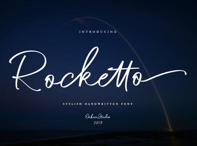 Rocketto Stylish Handwritten Font