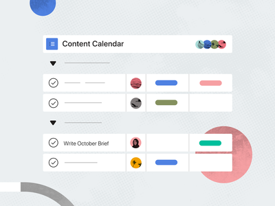 Asana Project View simplified simplify simple abstraction abstract content design color pattern software design texture ui illustration