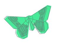 Origami Dollar