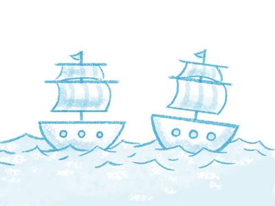 Fleetsmith Hero  ships painted illustration