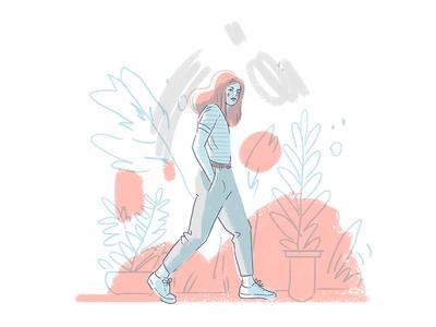 Walking Femme
