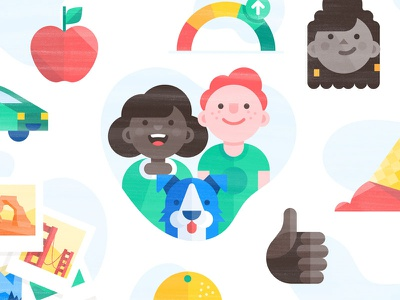 Credit Karma Case Study case study brand illustration