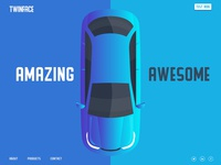 Twinface Car Landing Page