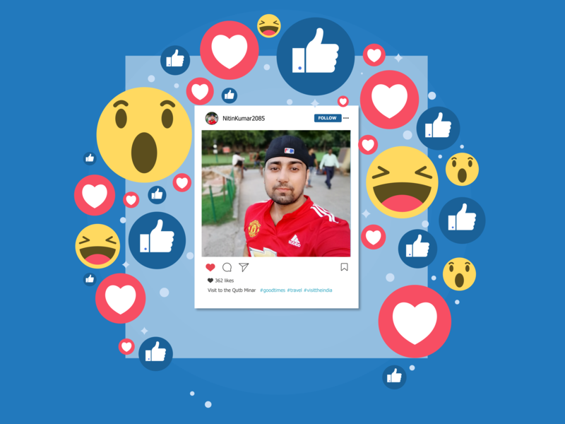 Facebook Like Design networking social facebook web art vector graphic minimal clean ui ux branding mug designer inspiration dribble