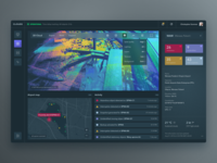 Clouds - Airport ground surveillance dashboard