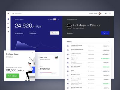Digital Banking Platform - Dashboard