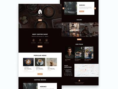 Sebelah Kopi Web Design coffeeshop coffee beans coffee landingpage uiuxdesign web design web ui  ux ui design ui landingpage design