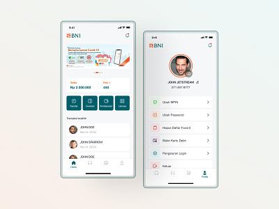Banking App Concept mobile design mobile ui app redesign app design ui ui  ux ui design design