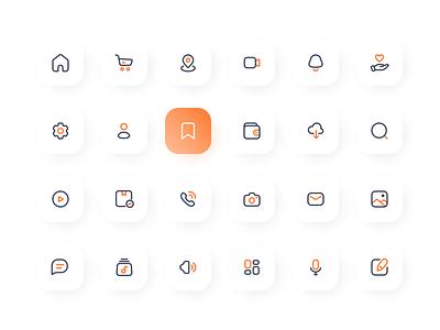 Icons - exploration uidesign ui design ui design icon iconography icon design icons