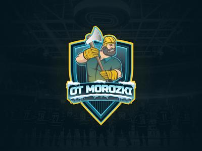 """""""Otmorozki"""" logo design"""