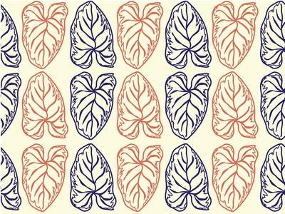 Safari Leaf Pattern_Botanical Vintage 2.1