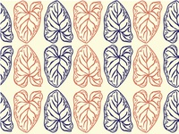 Safari Leaf Pattern_Botanical Vintage 2.1