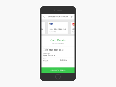 Day 005 - Credit Card Payment