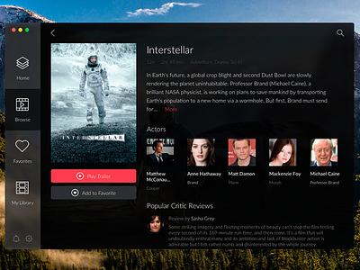 Day 015 - Movie App play card widget appstore app movie