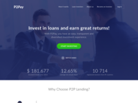 Invest Landing Page