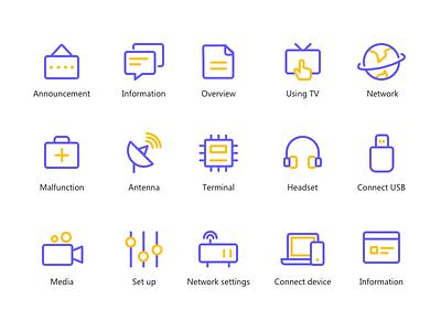 linear icon icon