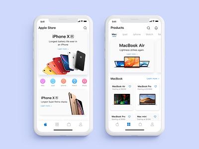 App Store design store. app.  ui.  ux
