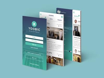 Mobile App UI Design native app mobile interface retailer app ui app mobile app design