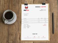 Pixfox Invoice Design