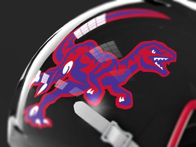 Hacl raptors helmet dribbble