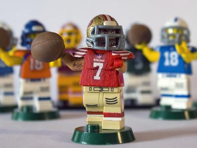 Custom Lego NFL Figures by Steve Russam  Dribbble