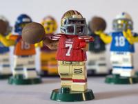 Custom Lego NFL Figures
