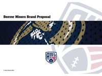 Denver Miners Proposal Front Cover