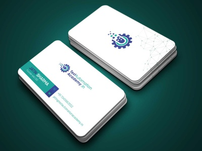 Creative Business Card Design typography business card design graphicsdesign illustration creative design businesscard