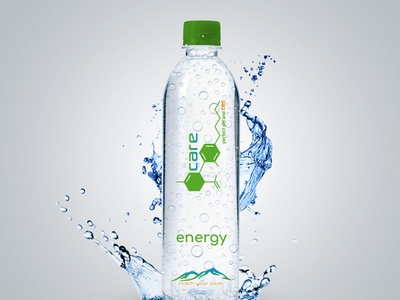 Logo in Water Bottle corporate design logo icon design logo illustration business card design logo design logo water