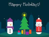 Happy Holidays E-Card