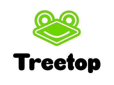 Treetop Logo branding illustration flat icon logotype logo