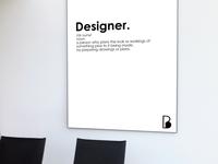 Definition of a designer