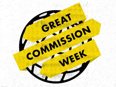 Great Commission Week globe