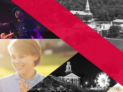 Boyce campus collage flame black and white louisville city students viewbook red design southern seminary college boyce college life