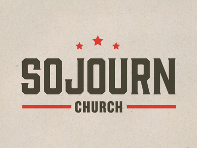 Sojourn Franklin logo church logo brand gin knockout star tennessee franklin southern south