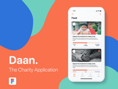 Daan - The Charity Application
