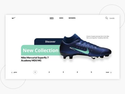 Landing Nike Website