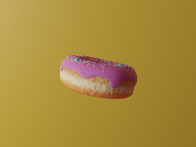 3D Doughnut visual art 3d animation 3d art render cinema4d blender 3d