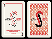 Business Card - Second Pass