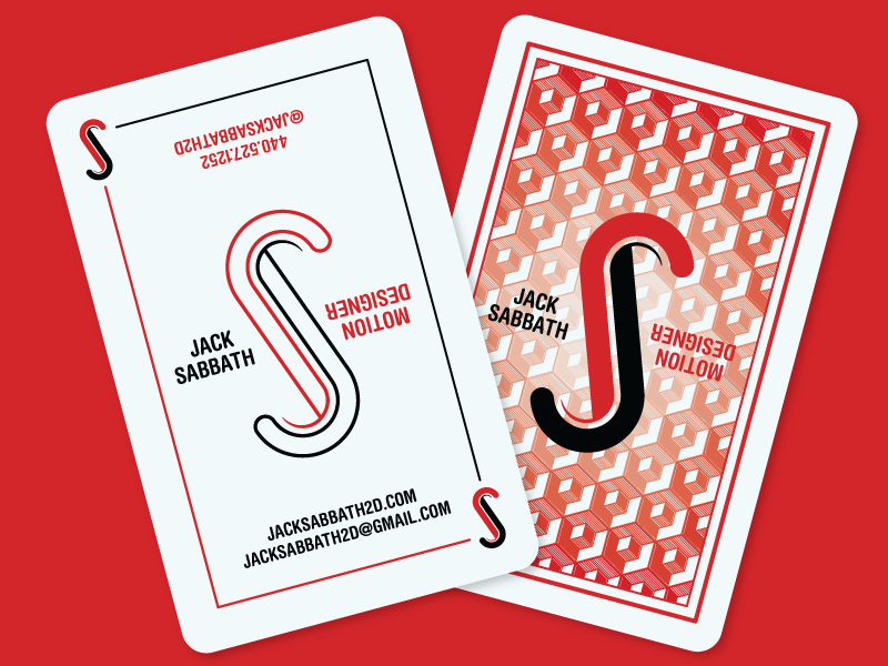 Jacksabbath businesscard