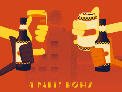 4TH Day of Bmore - 4 Natty Bohs