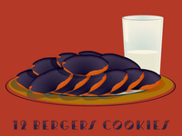12 Days of Bmore - 12 Bergers Cookies