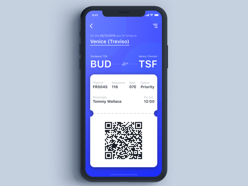 Daily UI Challenge #024 - Boarding Pass daily ui 024 gradients boarding pass boarding app design dailyui challenge daily ui challange app daily challange daily dailyui interface ui ui elements sketch design