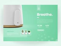 Daily UI Challenge #032 - Kickstarter Landing