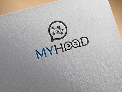 Myhood Logo Design