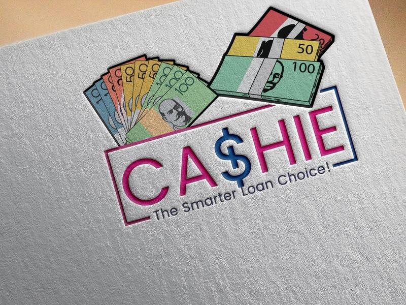 CASHIE The Smarter Loan Choice Logo Design icon logo illustrator banner illustration graphicart flatdesign vector professional modern graphic design clean art minimal logo design flat identity branding brand identity adobe illustrator