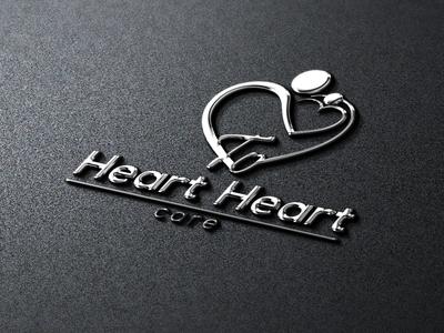 Heart To Heart Care Logo Design