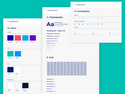 Digital Agency Intranet - UI Style Guide