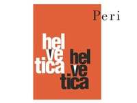 Peri - Helvetica Typography Design